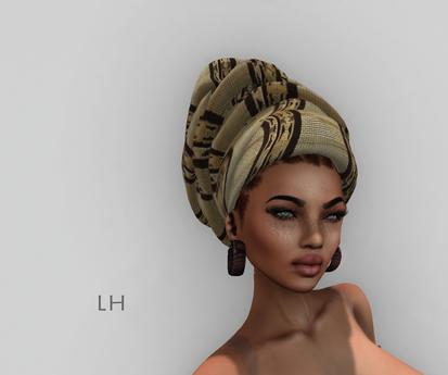L&H :: Head wrap  :: Akwete -