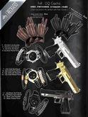 FxR. -GQ Gloves -Brown - RARE