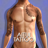 *NEW* AITUI TATTOO - the Fish & the Lotus (Appliers Included)