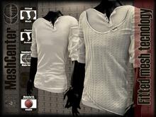 MESHCENTER - Casanova WHITE WHITE sweater