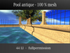 Pool antique -  mesh - builder edition