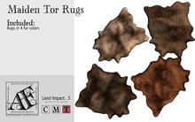 *AF* Maiden Tor Fur Rugs