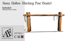 *AF* Stony Hollow Hitching Post