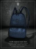 Bleich - Mesh BadKid Backpack - Navy