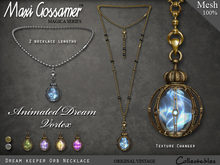 MG - Necklace - Dream Keeper Orb