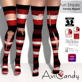 AVICANDY Fun Stripes - Vampy Ripped