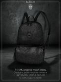 Bleich - Mesh BadKid Backpack - Black