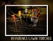 *Shabby* Reverence Lawn Torches