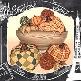 *Shabby* Autumn Warmth Pumpkin Pile