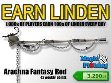 Magic Fishing Arachna Fantasy Rod