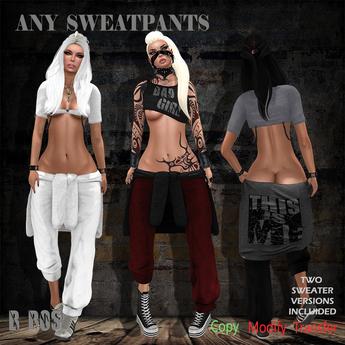 B BOS -Any SweatPants-DEMO-