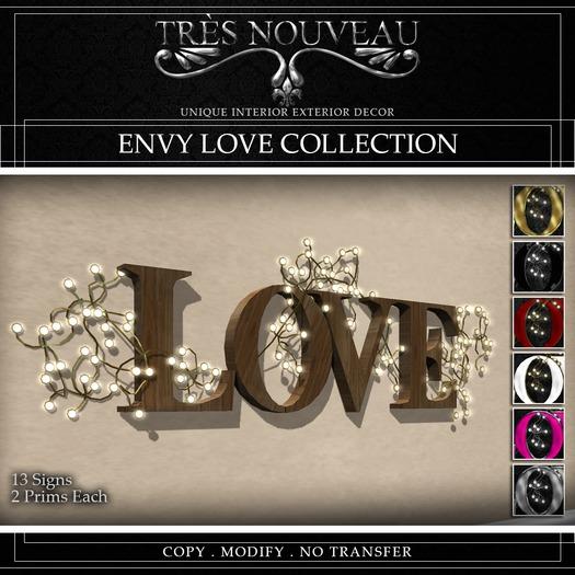 [TNouveau]EnvyLove Collection