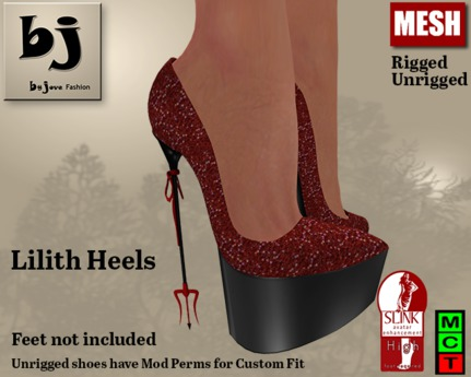 Second Life Marketplace - Lilith Heels