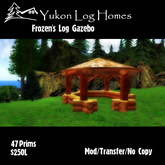 Frozens Log Gazebo