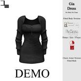 DE Designs - Gia Dress - DEMO