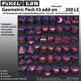 Smooth Geometric Pack#3 - *Reloaded* by Cel Edman