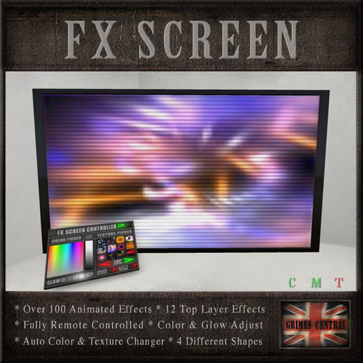 GCD - FX SCREEN (Club & Stage Animated Effects TV)