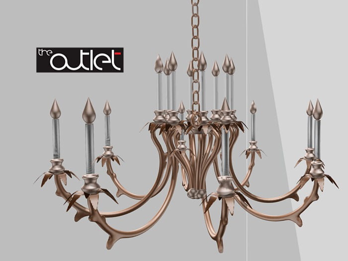 CO Satini Chandelier (with light)