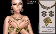 MdiModa - [00F] Black Diamonds Jewelry Set