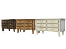 Mesh Wooden Commode - Full Perm