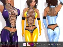 KARU KARU - Latex Outfit Cora (COLOR PACK 2)