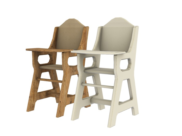 Mesh Kids Highchair - Full Perm