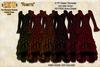 [SEW] FP Texture Meli Imako 6317825 Swan Dress  Rosette