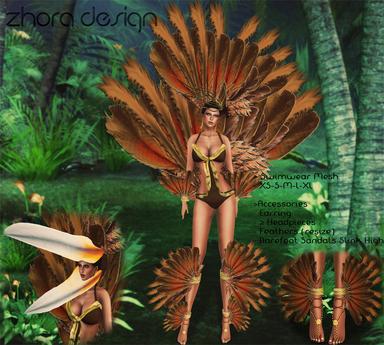 *ZD* Hornero Bird Outfit