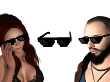 Minecraft Sunglasses FREEBIE