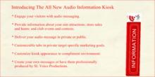 Audio Information Kiosk Public