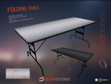 [DS] Folding Table