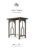 Soy. End table [Antique #409] [addme]