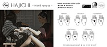 Soy. HAJICHI -KIKAISHIMA- Hand tattoo (addme)