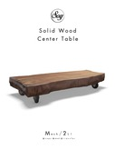 Soy. Solid Wood Center Table (addme)