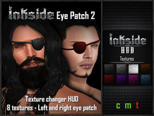 Inkside-Eye Patch 2 with 8 Textures Changer HUD