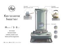 Soy. Kerosene heater [Blue] addme