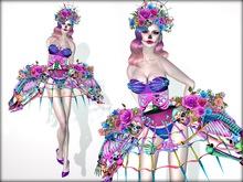 Boudoir Halloween-Catrina Couture
