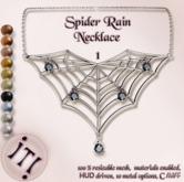 !IT! - Spider Rain Necklace 1