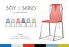 Soy+SKBIO. Chair [in town of Camaguey] mustard