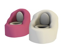 Mesh Kids Potty Chair - Full Perm