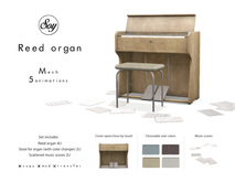 Soy. Reed organ [Darkbrown] (addme)