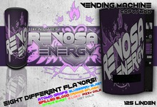 REVOSA Energy Vending Machine