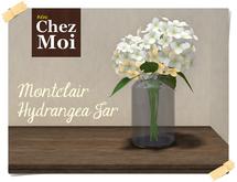 Montclair Hydrangea Jar ♥ CHEZ MOI