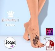 .::Joops::.~ Butterfly II Tattoo ~ Updated*
