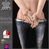 .::Joops::.~ Butterfly on my Hand Tattoo~ Updated*