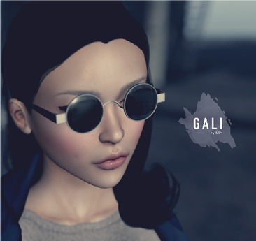 GALI by Soy. Marui Glasses [mirror yellow] bagged