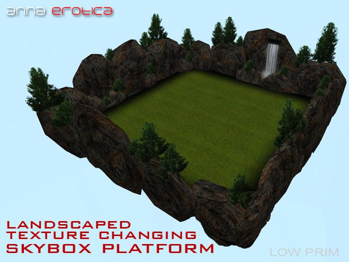 Anna Erotica - Landscaped Texture Changing Skybox Platform