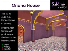 Oriana House - colorful exotic living - for small parcels