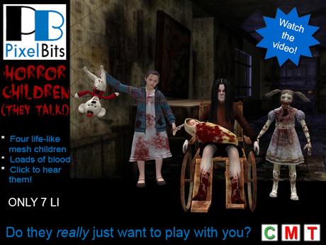 PB - Horror Children. Click to hear them!