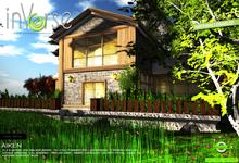 inVerse® MESH Aiken -  full furnished *mesh*  house  500+ anims